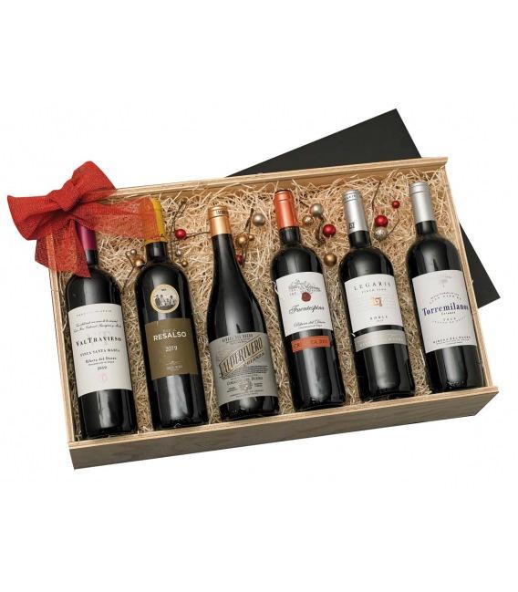 Ribera Navideña Premium - Caja Madera 104