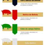 Significado de las etiquetas de jamón